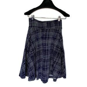 ModCloth Effie's Heart Skirt Blue Size Small